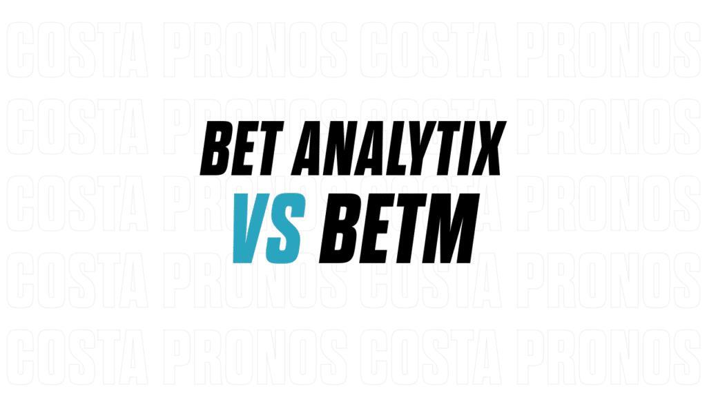 Bet Analytix contre betM : mon avis sur les app de gestion de bankroll